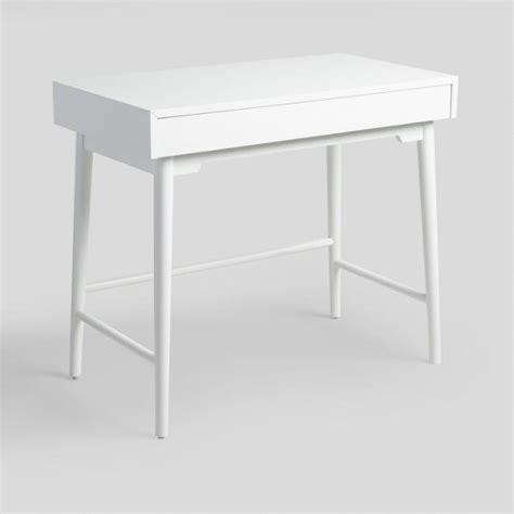 market white desk white wood zola desk market