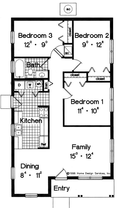 3 bedroom guest house plans simple small house floor plans house plans pricing