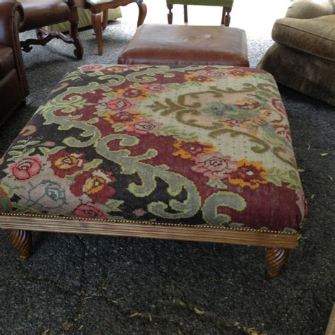 tapestry ottoman tapestry ottoman to die for crazy for ottomans pinterest