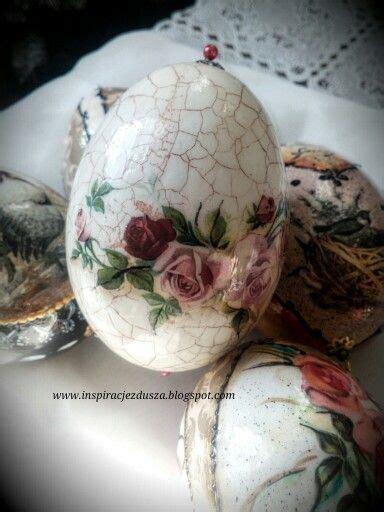Decoupage Easter Eggs - easter eggs decoupage wielkanoc jajka