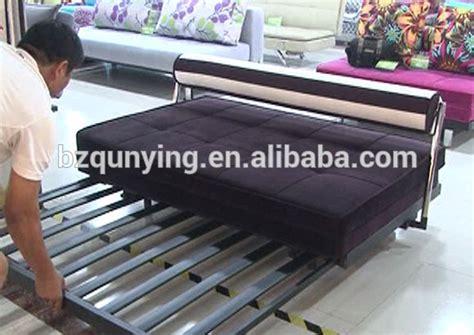 Cheap Livingroom Furniture New Design Metal Slat Sofa Bed Replacement Steel Frame