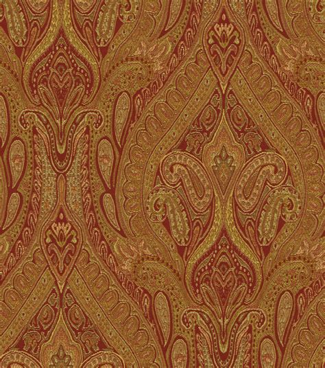 waverly upholstery fabric upholstery fabric waverly karaj paisley spice jo ann