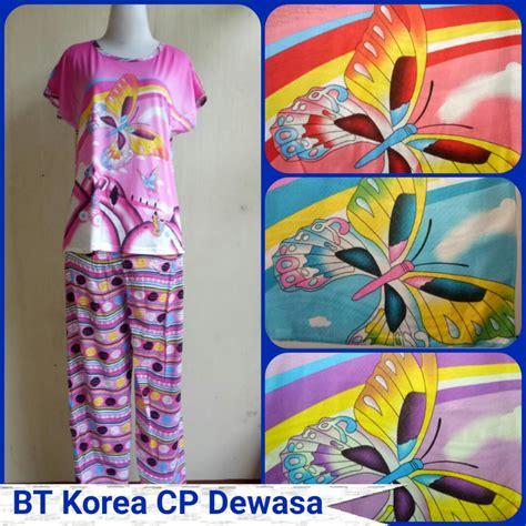 Piyama Dewasa Karakter Hp Baju Tidur Murah Baju Tidur 6 grosiran baju tidur korea dewasa cp karakter terbaru murah
