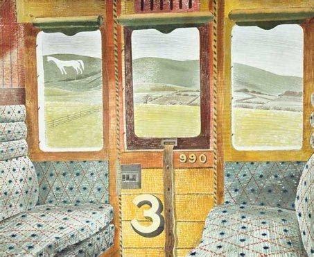 Eric ravilious train landscape leoframes