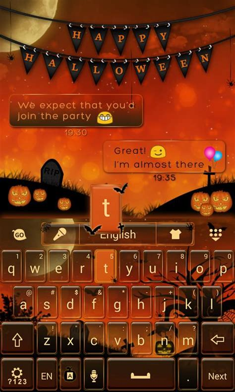 halloween keyboard themes happy halloween keyboard theme android apps on google play