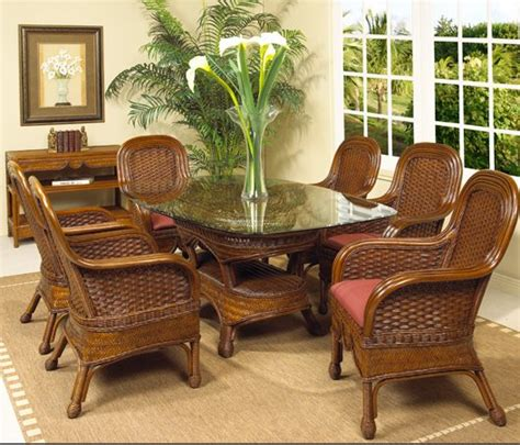 rattan kitchen furniture morocccan wicker rattan dining furniture kozy kingdom