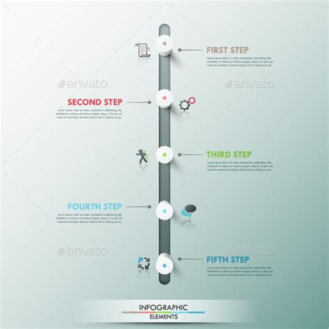 templates photoshop vectors modern infographic timeline template by andrew kras