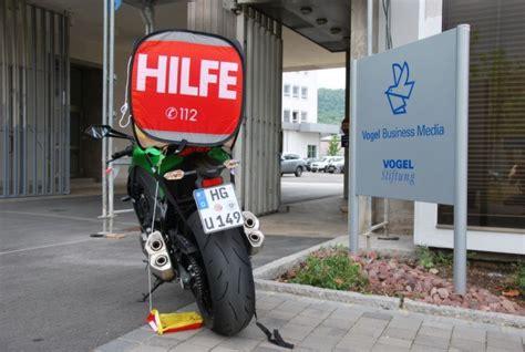 Warndreieck Motorrad Schweiz by Hilfe Und Sicherheit Bei Notf 228 Llen Tourenfahrer