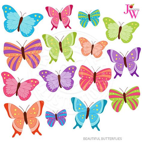 farfalle clipart beautiful butterflies digital clipart butterfly clip