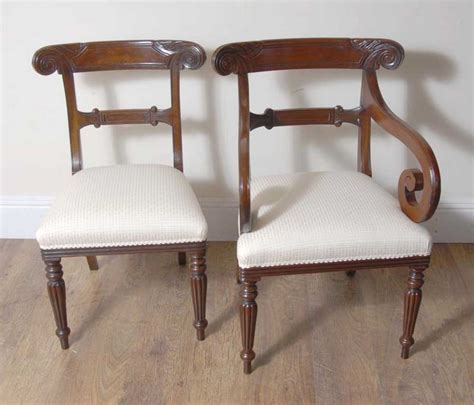 10 Dining Chairs 10 William Iv Dining Chairs Regency Chair