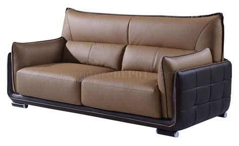 tan brown leather sofa ufy220 sofa in tan brown bonded leather by global w options