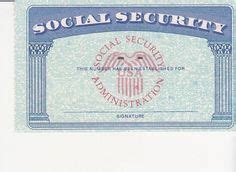 editable social security card template social security card template with seal www pixshark