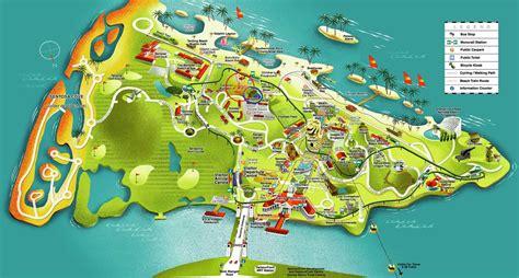 siloso resort location map sentosa singapore
