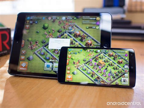 clash of clans android how to transfer your clash of clans from ios to android android central