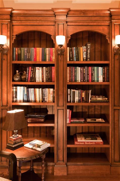 hallway bookshelf traditional vancouver by
