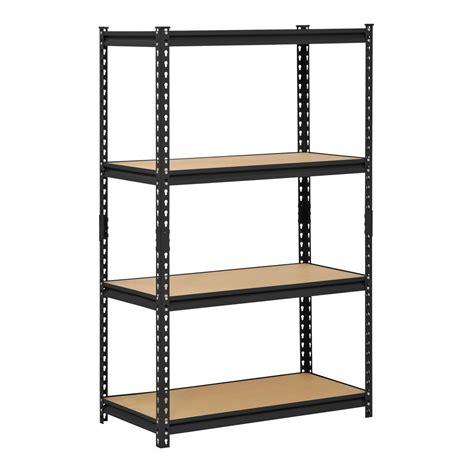 industrial storage shelves heavy duty steel rack industrial shelving adjustable warehouse garage storage ebay