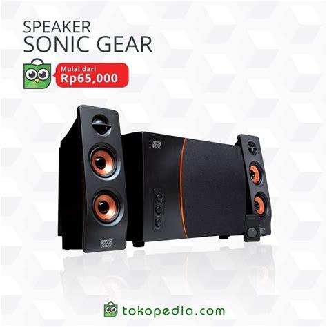 Speaker Aktif Murah Meriah dapatkan speaker sonic gear murah mulai dari rp 65 000