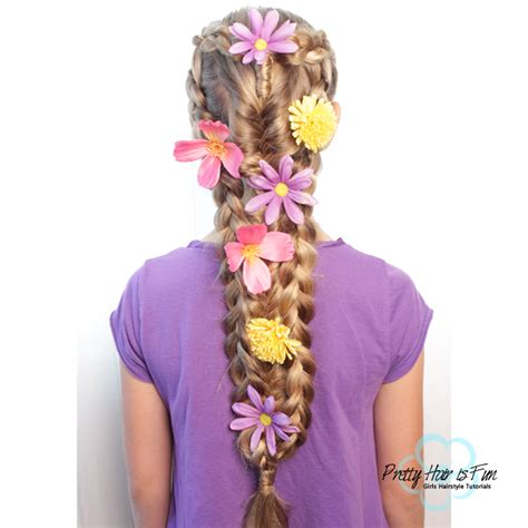 Rapunzel Hairstyle by Rapunzel Hairstyle Princess Costume Ideas Pretty Hair