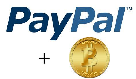 bitcoin paypal paypal y el uso del bitcoin