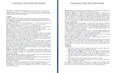 contract templates for small business 11 business contract sle loan application form