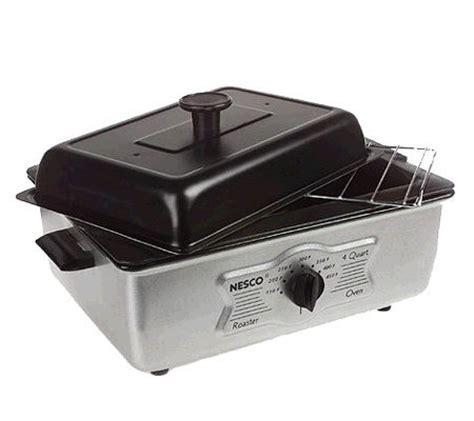 Oven Quantum nesco 4qt quantum nonstick roaster oven qvc