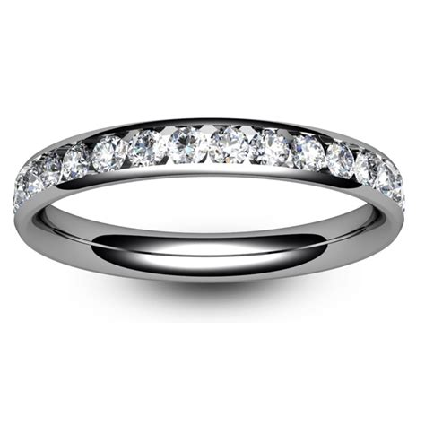 18ct white gold eternity ring tbc1012h