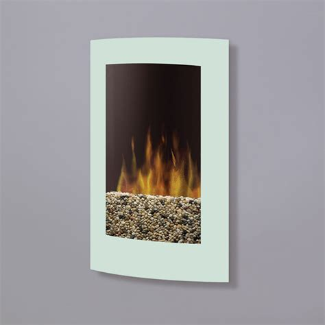 wallmount electric fireplace features