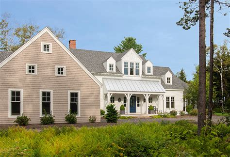 maine house with classic coastal interiors home
