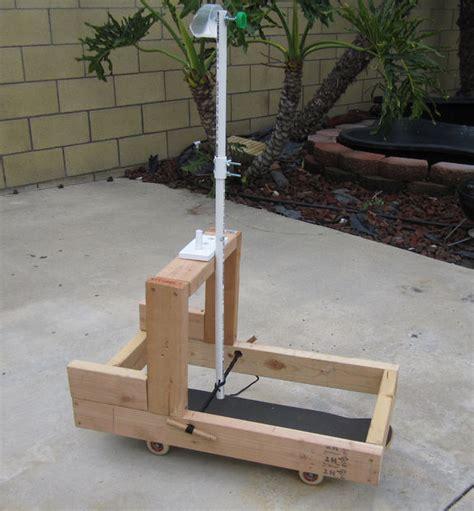 backyard trebuchet easy backyard catapult for hero dads do it yourself