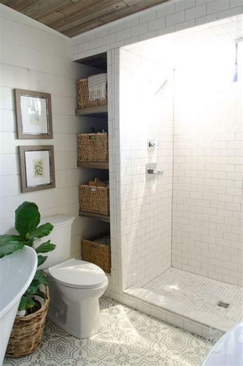 farmhouse bathroom ideas  small space modern