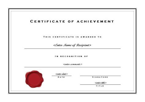 microsoft publisher award certificate templates free printable certificates of achievement
