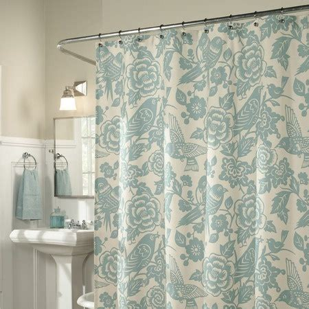 feather shower curtain glenwood shower curtain feathers nice and joss and main