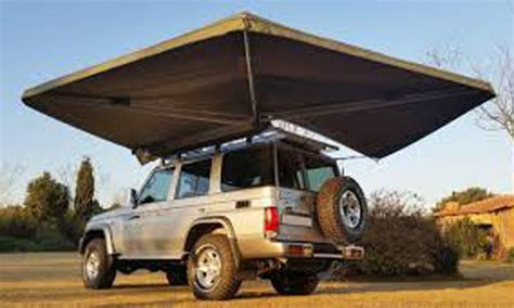 rooftop awning 4x4 rhino 4 215 4 awnings and rooftop tents