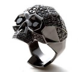 epic wedding band planet obscura 174 presents screaming skulls club epic black skull ring