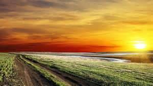 1920x1080 River Way Grass Perfect Sunset desktop PC and Mac wallpaper Grass