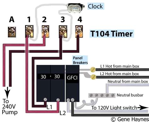 intermatic pool timer wiring diagram intermatic t103 timer wiring diagram timer switch wiring