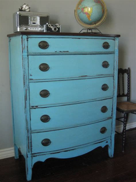Dresser Painted by European Paint Finishes Two Antique Dressers