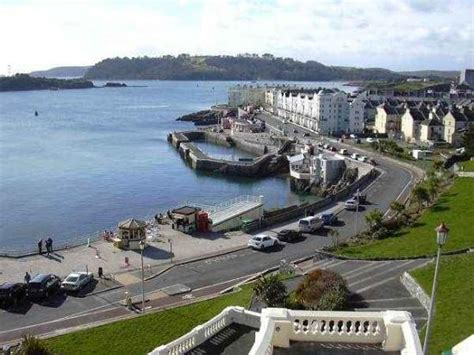 the hoe plymouth plymouth hoe promenade drakes island cornwall picture of