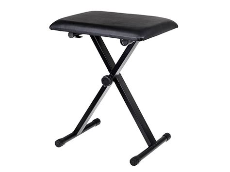 Adjustable Folding Stool by Black Adjustable Piano Keyboard Bench Leather Padded Seat Folding Stool Chair Ebay