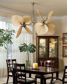 palisade ceiling fan from fanimation tropical dining