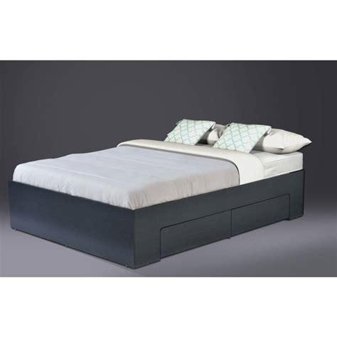 Platform Bed Frame Australia Size Platform Bed Base W Side Storage Black Buy Bed Frame