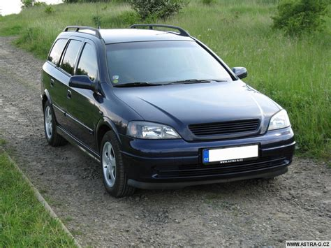 Opel Astra 2000 Specs 2000 Opel Astra G Caravan Pictures Information And