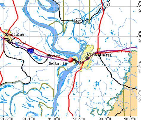 louisiana delta map delta louisiana