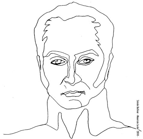 dibujos para colorear d simon bolivar dibujo de simon bolivar facil de dibujar barrakuda info