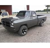 1991 Dodge Ram With 44935 Miles Custom Paint Tires And