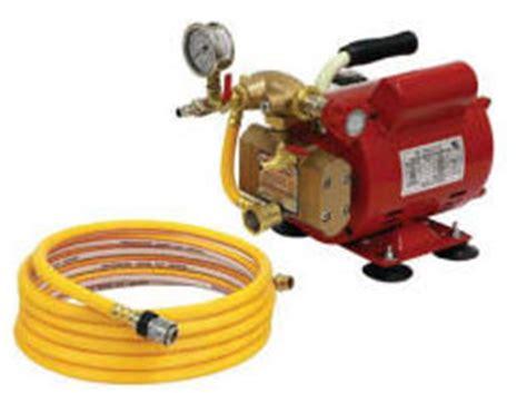 Hydrostatic Pressure Test Plumbing by Hydrostatic Test Pumps Used For Pressure Testing