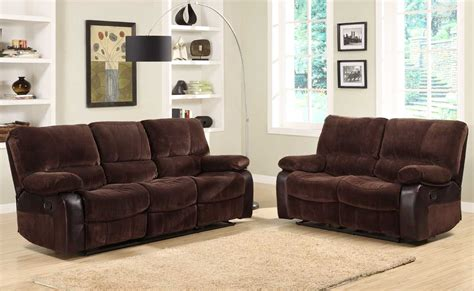 sofa set with recliner homelegance caputo reclining sofa set u9711 3