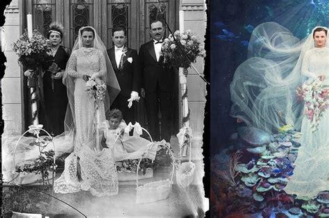 imagenes surrealistas antiguas esta fot 243 grafa convierte fotos antiguas en obras de arte