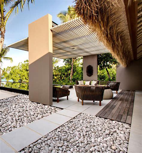 decoracion de terrazas y jardines cantos rodados cupa de m 225 rmol para decoraci 243 n en jardines