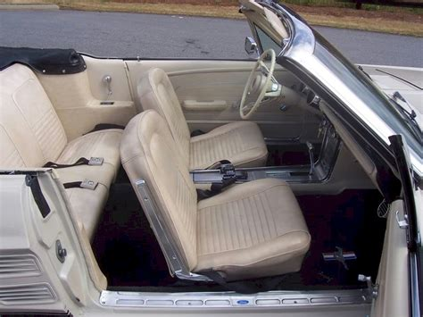 67 Mustang Interior by Pebble Beige 1967 Ford Mustang Convertible